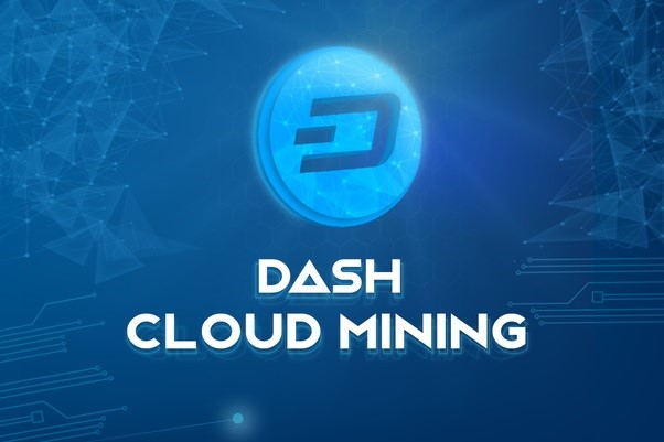 How does Dash cloud mining work?